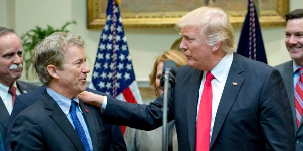 Rand Paul says he supports 'biggest, boldest cuts possible' to taxes after Trump calls him out on Twitter