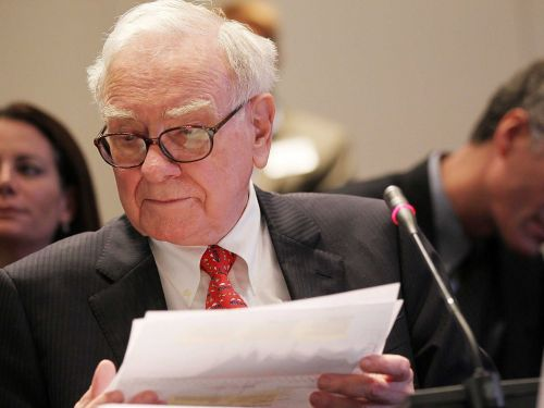 Warren Buffett says investors should heed this 19th century poem when the market is crashing