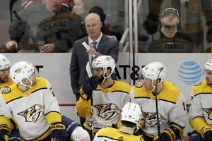 New coach using NHL stoppage to study up on his Predators