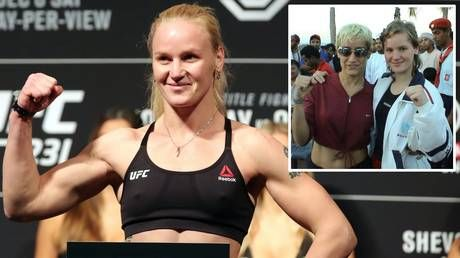 UFC champ Valentina Shevchenko shares vid of her defeating 25-year-old -while aged just 14