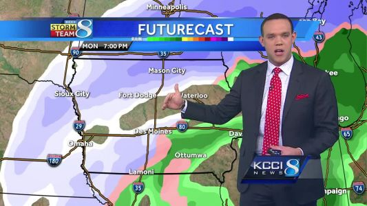 Videocast: 40s today, winter blast on the way