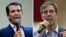 Donald Trump Jr. Attacks Beto O'Rourke: He's 'An Irish Guy Pretending To Be Hispanic'