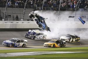 Newman hospitalized after ghastly crash in Daytona 500