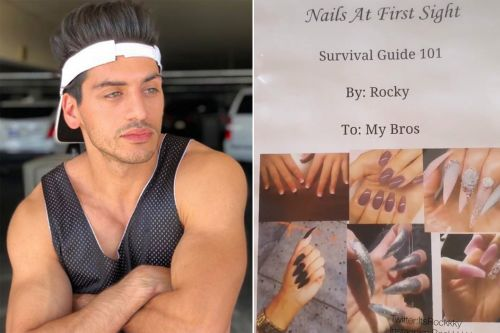 Bro decodes nail art to save guys from dating 'crazy' ladies