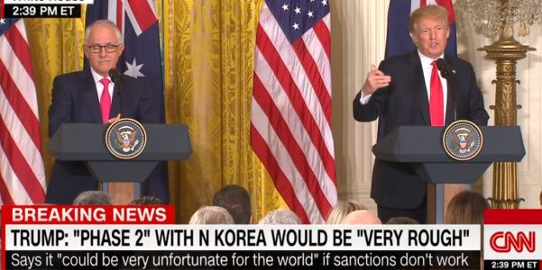 Trump warns of 'very rough' 'Phase Two' against North Korea if sanctions don't work: 'Very, very unfortunate for the world'