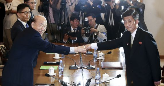 Seoul says rival Koreas agree to hold reunions of war-separated families on Aug. 20-26