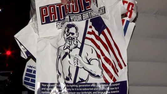 Posters supporting white nationalism found in Boston neighborhood