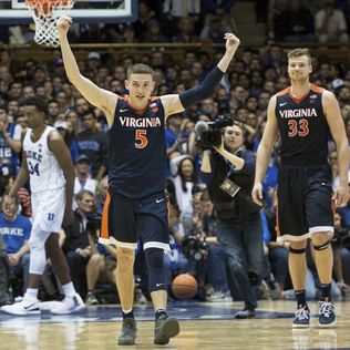 Virginia stays at No. 1 in AP Top 25; Duke jumps to 5th