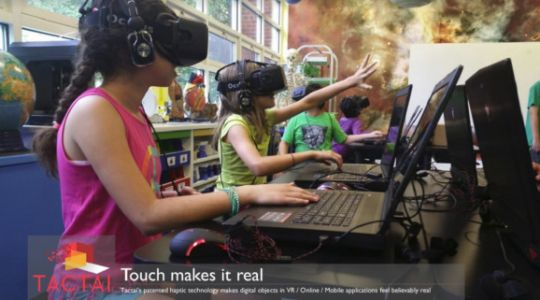Tactai wants to bring better touch feedback to virtual reality