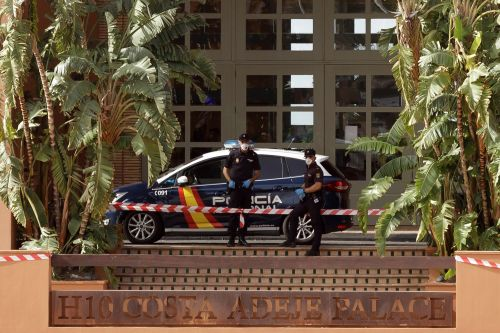 Spanish hotel placed on lockdown after Italian guest tests positive for coronavirus