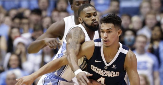 No. 12 North Carolina shoots the lights out to beat No. 4 Gonzaga