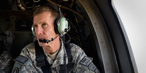 What Stanley McChrystal learned from Al Qaeda's leader in Iraq before leading the operation to kill him