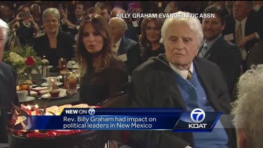 Billy Graham had political impact on local leaders