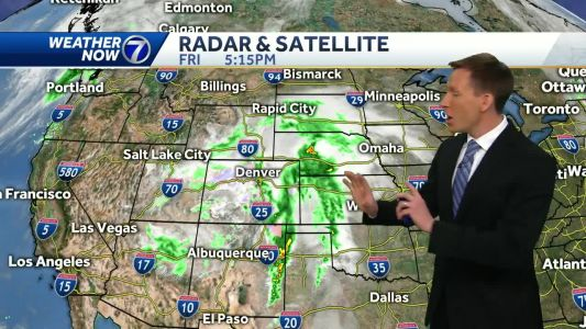 Plenty of clouds around this weekend, not a lot of rain