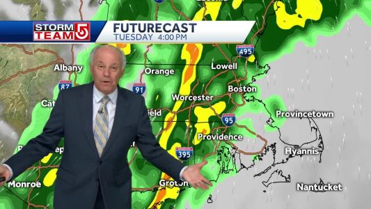 Video: Mostly dry start, wet end to election day
