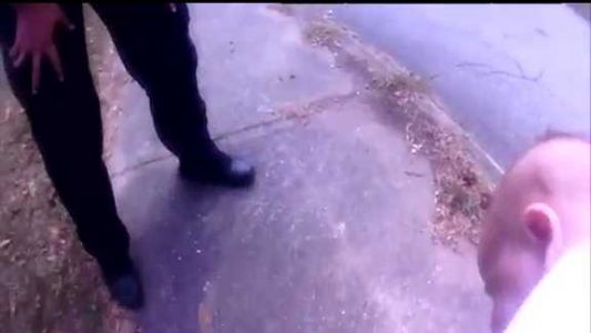Caught on camera: Officer saves infant from choking on medicine