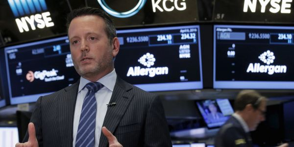 Allergan spikes 30% after AbbVie agrees to buy the Botox-maker for $63 billion