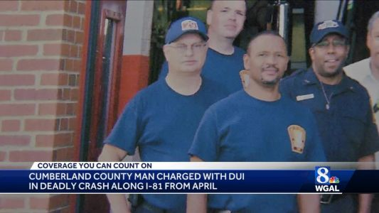 Cumberland County man charged with DUI in fatal crash along I-81 in April