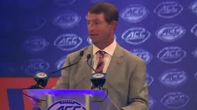 WATCH: Clemson head coach Dabo Swinney talks about what his faith means to him