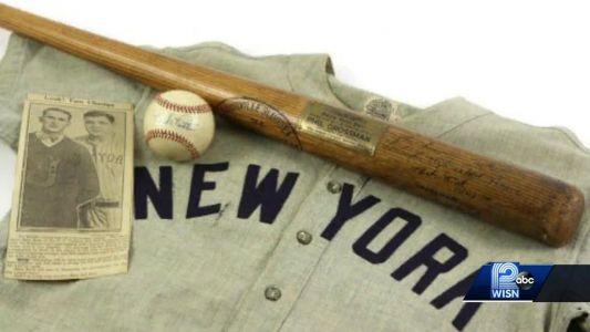 Most expensive bat in world to hit auction block in Milwaukee