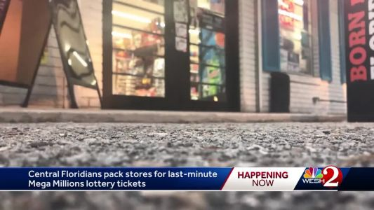 Central Floridians pack stores for last-minute Mega Millions lottery tickets