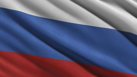 Trolling Russia, or mocking British paranoia? HUGE Russian flag flies from Salisbury Cathedral