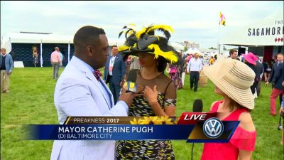 Mayor Catherine Pugh: 'The Preakness is our Super Bowl'