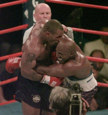 20 years ago, 'The Bite Fight' turned boxing on its head