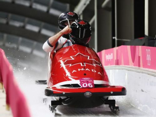 Canada's Justin Kripps, Alex Kopacz tie for gold medal in two-man bobsleigh with German sled