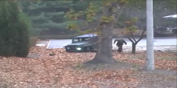 How a North Korean soldier crashed a vehicle, got shot 5 times, and dashed across the border to South Korea