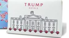 Trump Has Slapped His Brand On Images Of The White House To Sell At His Trump Store
