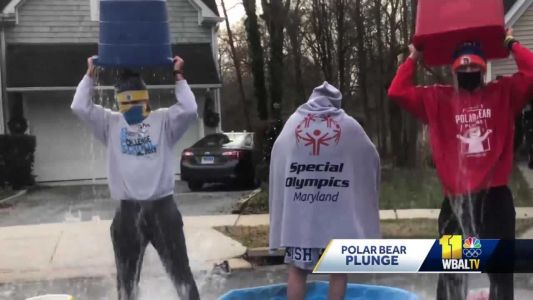 Polar Bear Plunger of the Week raises big money for Special Olympics Maryland