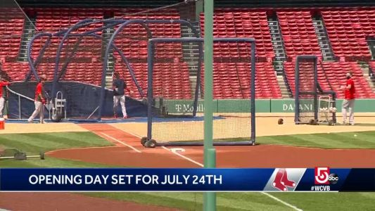 Red Sox to open shortened 2020 season July 24