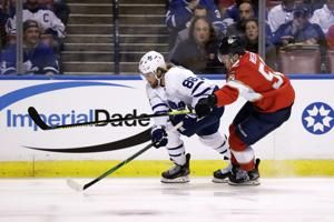 Nylander leads Maple Leafs over Panthers, 5-3