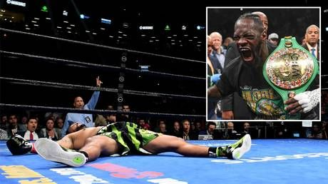 'Wilder hit him so hard, they're feeling it in Brazil!' Wilder demolishes Breazeale in NY
