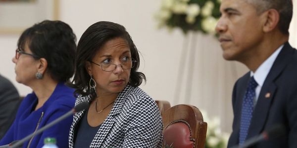 Susan Rice documented a January 2017 meeting with Obama and senior officials because they were 'justifiably concerned' about Trump-Russia ties