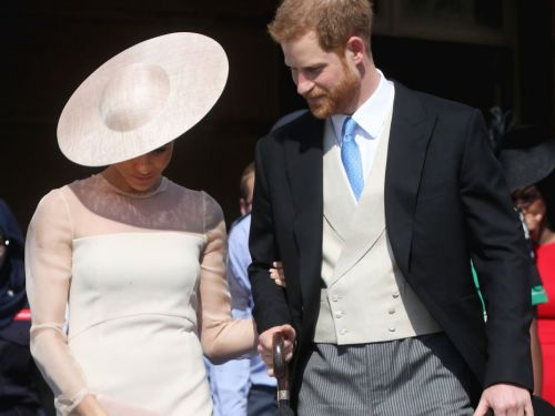 Meghan Markle wore tights for her first appearance after marrying Prince Harry - and it shows she's actually following royal protocol