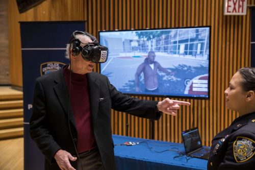 First-of-its-kind NYPD VR gaming system targets teens