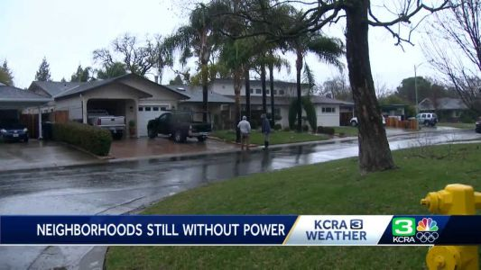 Thousands in Sacramento still without power after NorCal winter storm