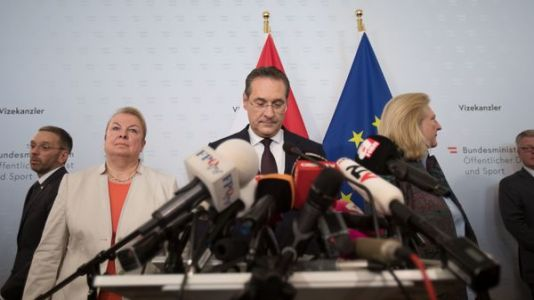 Austria's Vice Chancellor Quits After Video Surfaces Of Meeting With Russian Investor