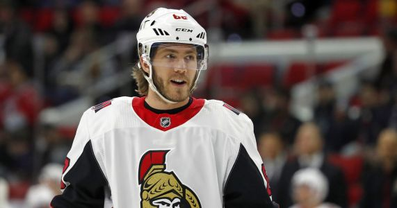Sharks acquire winger Mike Hoffman from Senators