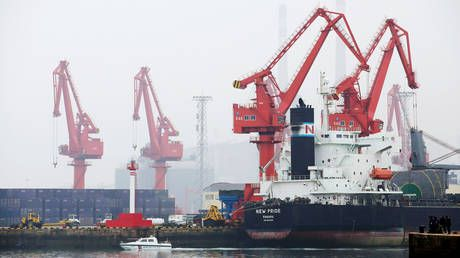 Two Russian ships banned from China for a month after coronavirus detected on imported goods