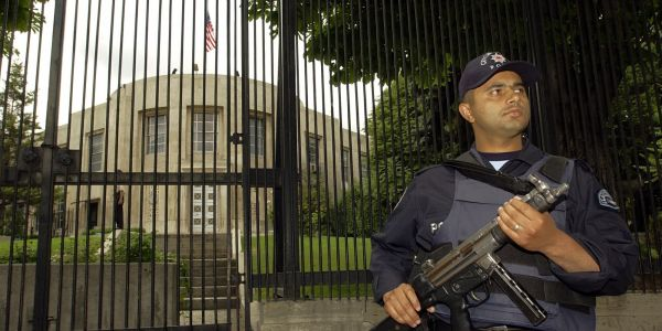 Shots were reportedly fired at the US embassy in Turkey