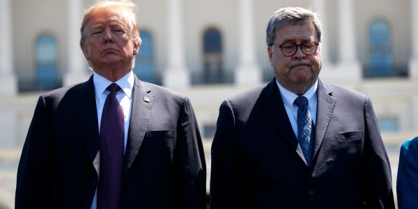 AG Barr says he won't cave to pressure from Trump despite repeatedly doing what Trump publicly demands