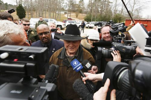 The Latest: Washington Post banned from Moore gathering