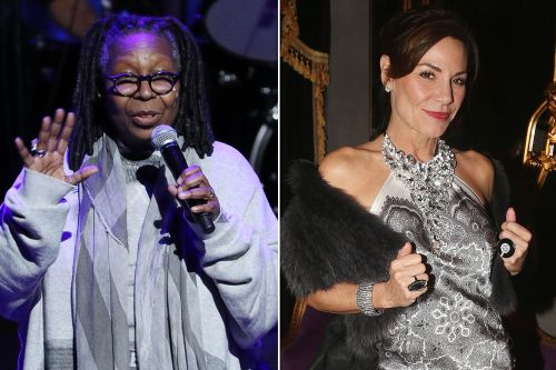 Whoopi talks weed and Luann apparently drank at benefit