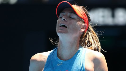 Australian Open 2019: Maria Sharapova eliminated by local favorite Ash Barty