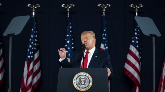 Trump Flouts Virus Rules, Warns Of 'New Far-Left Facism' In Speech Ahead Of July 4th