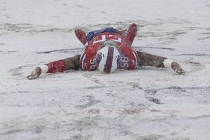 Bills dig out from snow to remain firmly in AFC playoff race