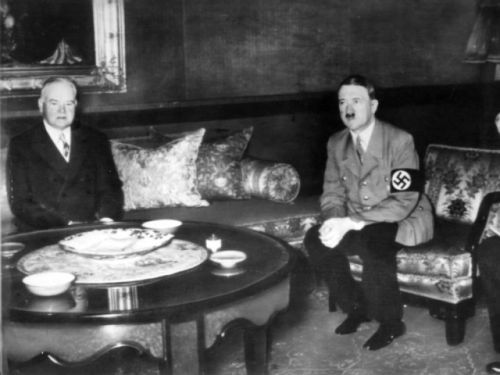 When Hitler met Hoover and eight other instances dictators scored presidential face time
